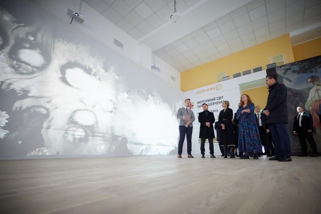 Президент і перша леді відвідали «Шевченко HUB» у Каневі 4