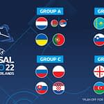 Сборная Украины узнала соперников по футзальному Евро-2022 24