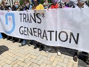 Трансгендерный марш в Киеве. 3