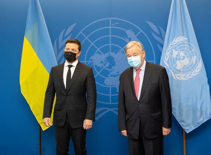 Президент України зустрівся з Генеральним секретарем ООН 39