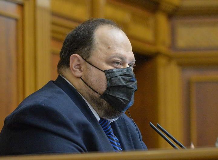 Руслан Стефанчук: Жодна держава, а особливо – держава-агресор, не може проводити свої вибори на наших тимчасово окупованих територіях 31