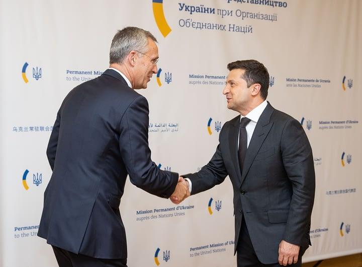 У Нью-Йорку відбулася зустріч Володимира Зеленського з Генеральним секретарем НАТО 27